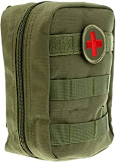 Compact Molle Tactical Utility 900D Nylon Red Cross Patch EMT Military Medical Pouch for Outdoor Enthusiasts Emergency First Aid Kit Supplies(Bag Only)