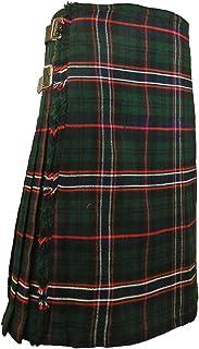 Scottish Kilt for Men/Boys, Tartan Acrylic Kilts, Men's Kilt