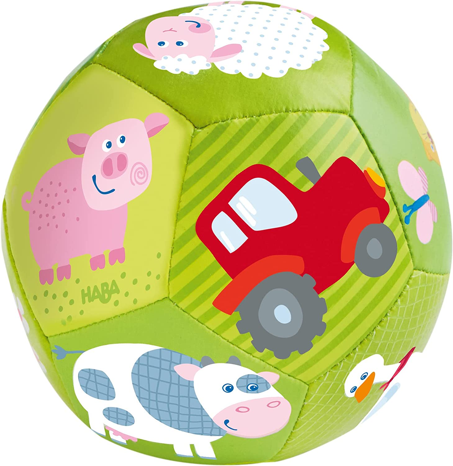 HABA Baby Ball on The Farm Super sale period limited Japan Maker New 4.5