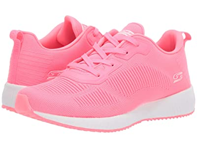 BOBS from SKECHERS Bobs Squad Glow Rider (Neon Pink) Women