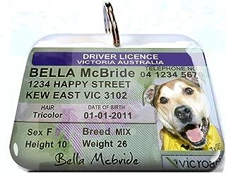 Australia Driver License Victoria Personalized Pet ID Tags