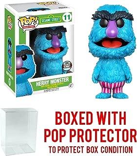 Funko Specialty Series Pop! Sesame Street: Herry Monster Vinyl Figure Bundled with Free Pop BOX PROTECTOR CASE
