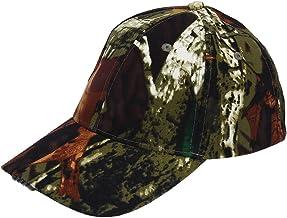 Tbest Sombrero LED Gorra de Beisbol Sombrero 5 LED Sombrero Ligero Ultra Brillante Sombrero de Pesca LED Manos Libres para Hombres/Mujeres Pesca Caza Camping Senderismo Caminar Footing, Camo/Negro