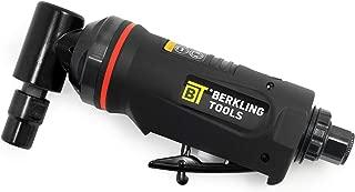 "Berkling Tools BT 6322 1/4"" Right Angle Air Die Grinder, Professional Grade Heavy Duty Variable Speed (90 Degree)"