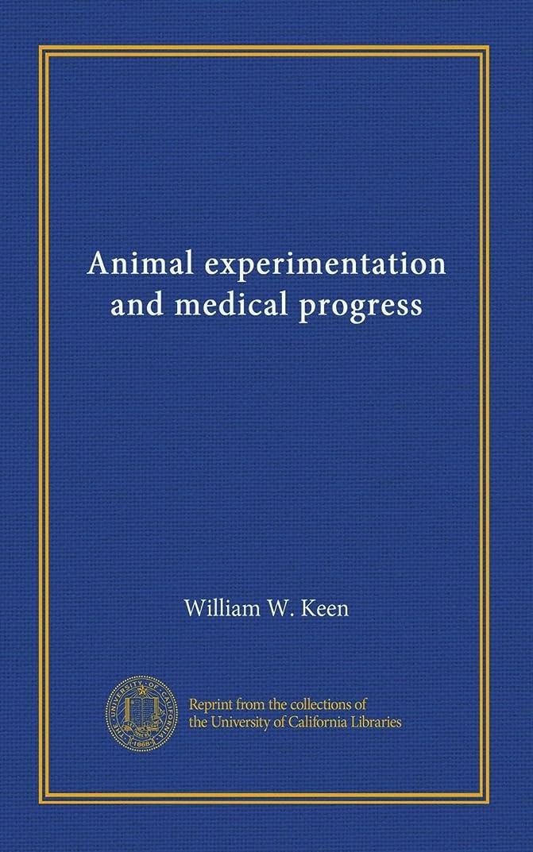 安いですセットアップ測定可能Animal experimentation and medical progress
