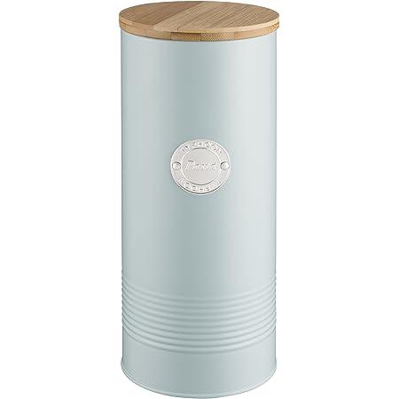 Typhoon Living Boîte à pâtes avec couvercle en bambou Bleu 2,5 l
