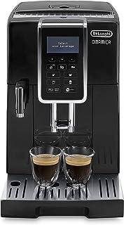 De'longhi Dinamica Ecam350.55.B - Cafetera superautomática, 1450w, función cappuccino, personalización variedad de bebidas...