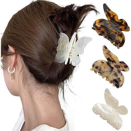 Fashion Metal Hair Clip Creative Side Clip Hairpins Butterfly For Women F5B3