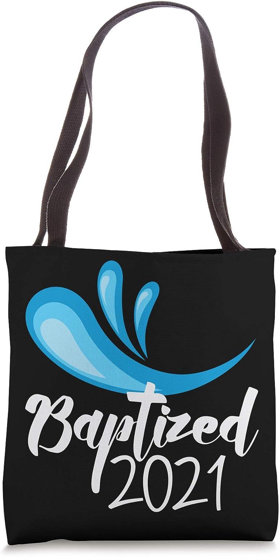 Adult Baptism Gift 2021 Baptized Catholic RCIA Rite Tote Bag