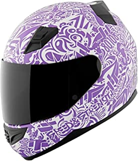 Speed and Strength United By Speed Adult SS1200 Street Motorcycle Helmet - Matte Purple / 2X-Large