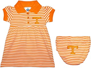 University of Tennessee (UT) Volunteers Striped Game Day Dress with Bloomer