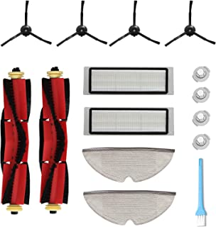 KongDY Accessories For Roborock Vacuum Cleaner S5 MAX S6 S60 S65 S55 S50 E35 Replacement Parts Pack of Hepa Filters, Main ...