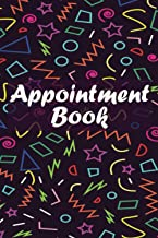Appointment Book: Appointment Book with Times Daily and Hourly Schedule (15 Minutes Interval), 6X9 inches.