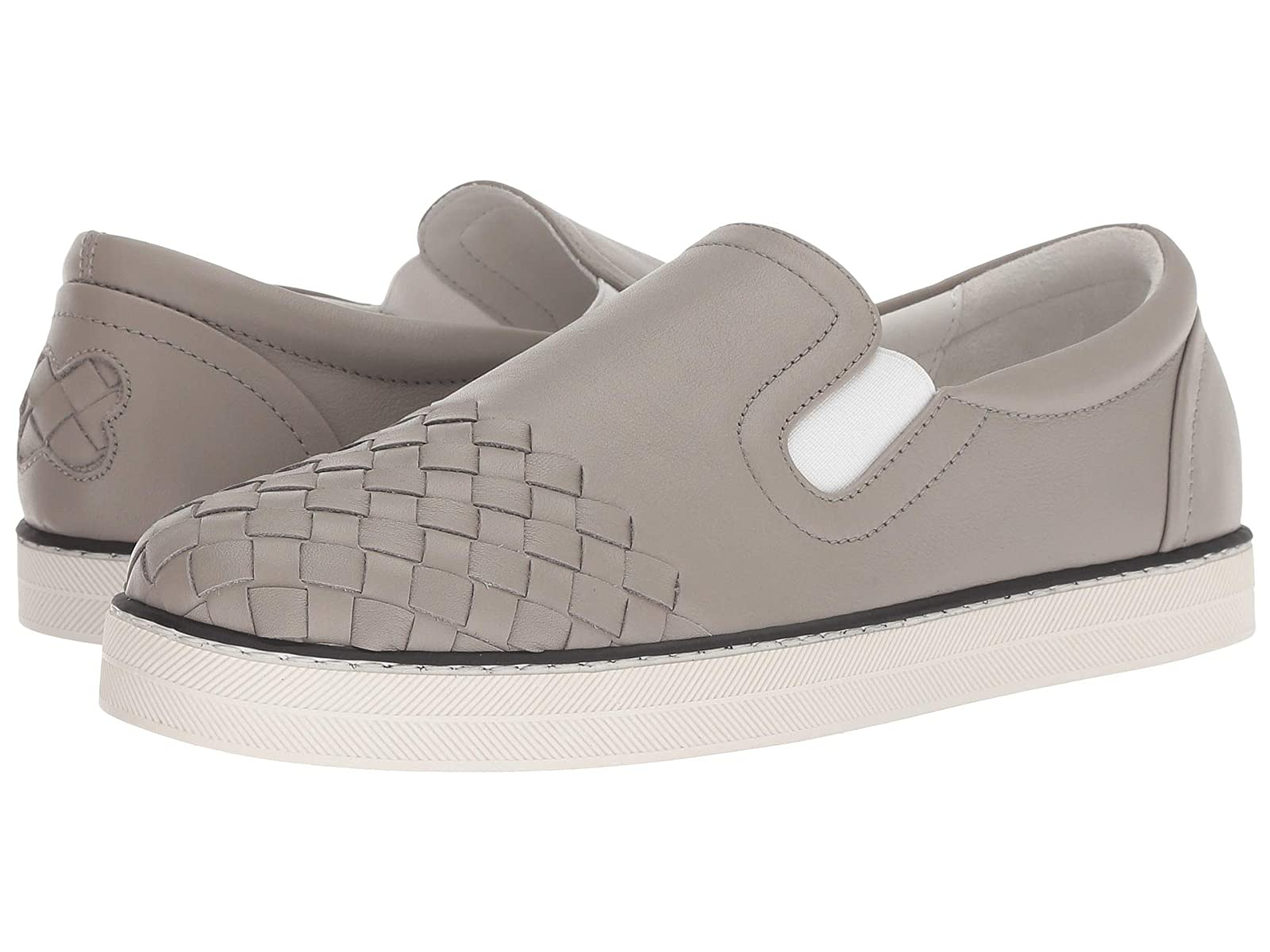 Bottega Veneta Intrecciato Cap Slip-On SneakerAtmospheric grades have affordable shoes