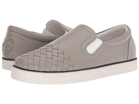 fd07b1fb732d Bottega Veneta Intrecciato Cap Slip-On Sneaker at Luxury.Zappos.com