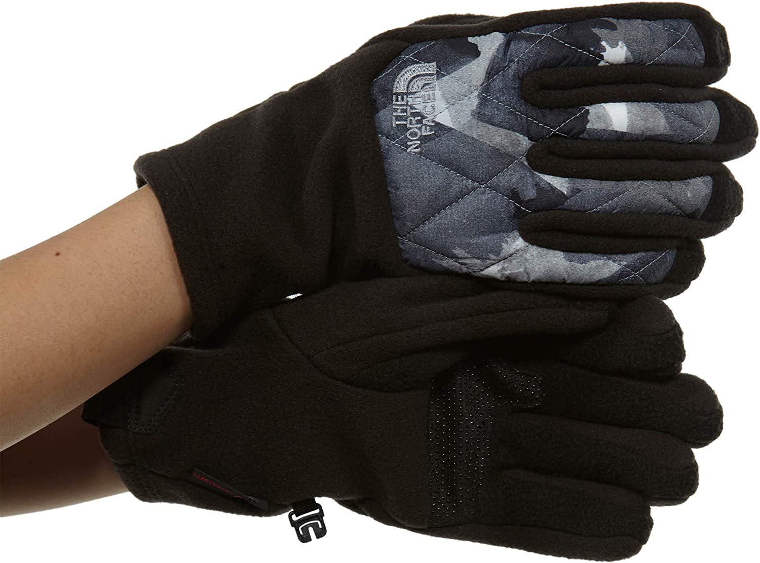 The North Face Thermoball Etip Glove Women's TNF Black Swashed Print Large