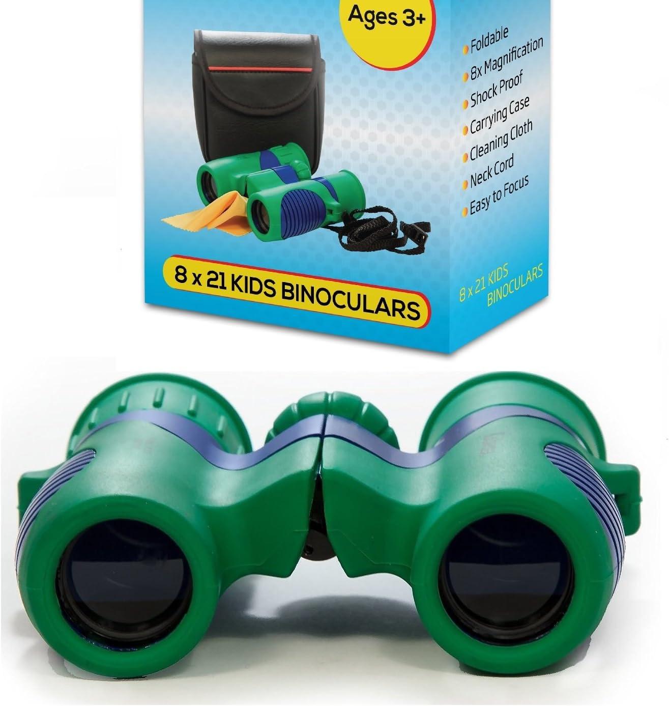 Kidwinz Original Compact 8x21 Alternative dealer Kids Set - Selling rankings Resolut Binoculars High
