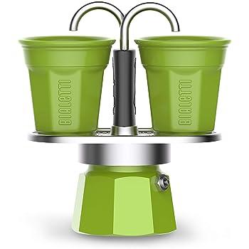 Bialetti - Cafetera de 2 tazas Nueva colección Verde: Amazon.es: Hogar