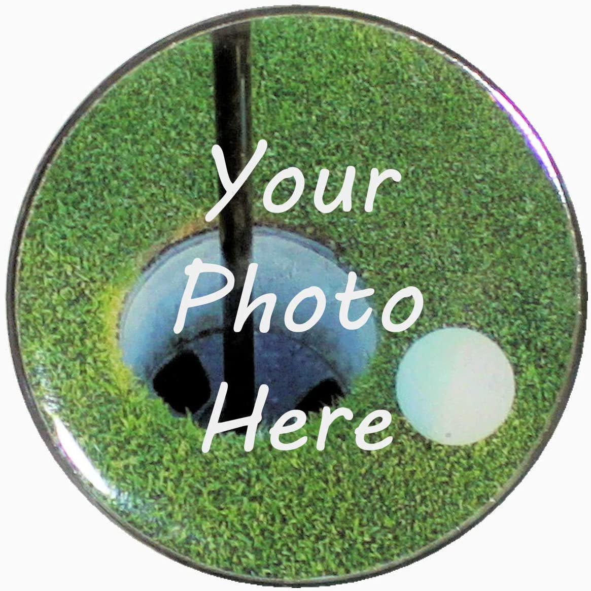 Jumbo Golf Ball Marker - Cu 1.5