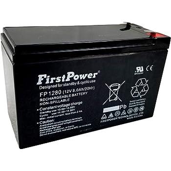 Napco Alarms 12V 7Ah Replacement Ultramax 12V 7Ah Alarm Battery