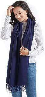 Supplim Cashmere Scarf Soft Pashmina Wraps Shawls Winter Scaves for Men Women