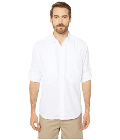 Royal Robbins Bug Barrier Expedition Long Sleeve Shirt (White) Men