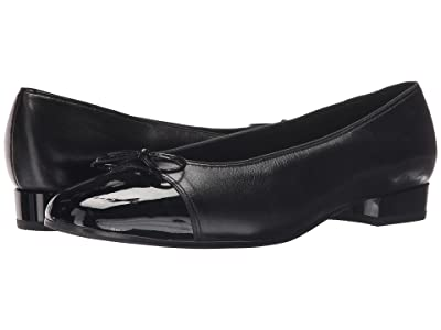 ara Bel (Black Nappa w/Patent Tip) Women