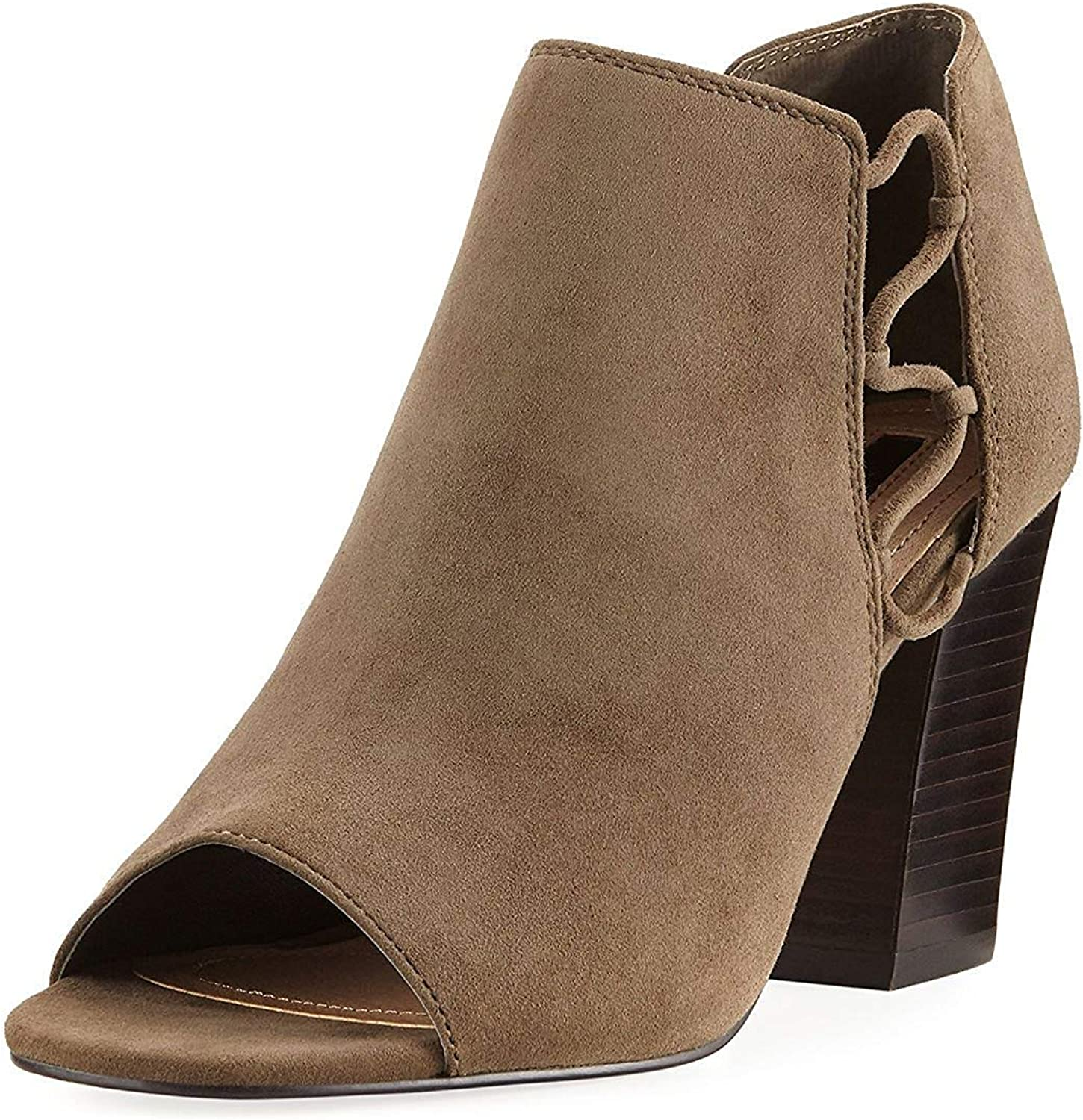 Tahari Women's Ta-Post Pump Bootie, Fawn, 6.5 M Us
