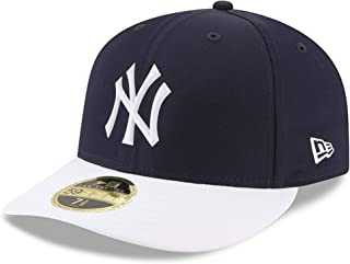 New York Yankees 2018 Batting Practice Prolight Low Profile 59Fifty Fitted Hat Navy White