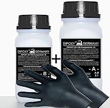 3,0 kg epoxyhars 2K hars + verharder + handschoenen EP lamineerhars in professionele kwaliteit glashelder en geurarm gieth...