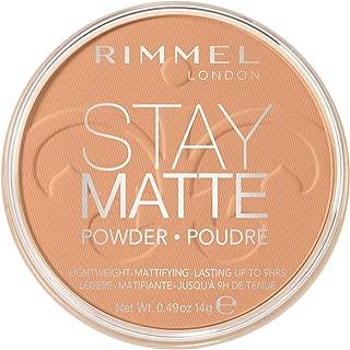 Rimmel Stay Matte Pressed Powder, Nude, 0.47 Fluid Ounce