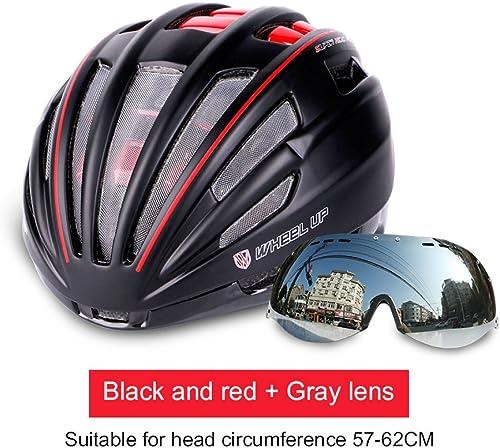 WKAIJCE Wheelup Reithelm fürr r Bilden Goggles Helme M er und Frauen Mountainbike Reiten Ausrüstung,C-OneGröße