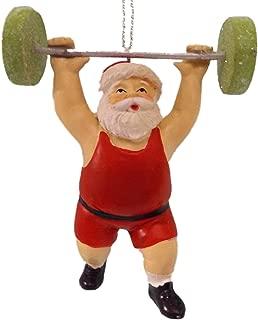 Best weightlifting santa ornament Reviews