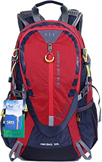 EGOGO 30L Outdoor Cycling Hiking Water-Resistant Backpack Running Camping Daypack with Rain Cover S2310