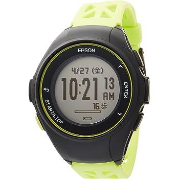 [エプソン] 腕時計 リスタブルジーピーエス GPSランニングウォッチ Q-10G グリーン