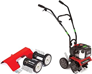 Earthquake MC43 Cultlivator Lawn Garden Gas Tiller w/Dethatcher Attachment Kit