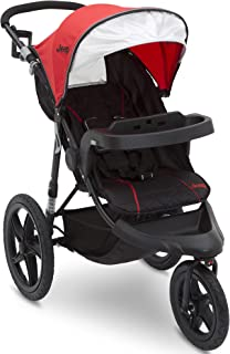 Jeep Classic Jogging Stroller, Red