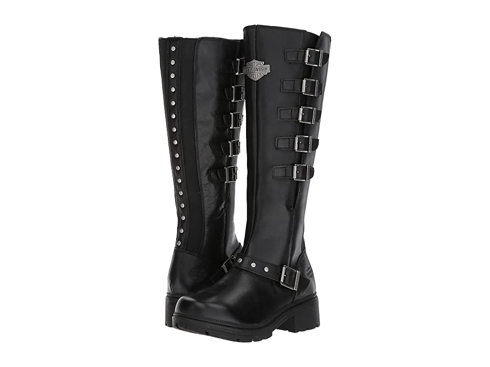 2ac156debe44 Harley-Davidson Glassford (Black) Women s Lace-up Boots