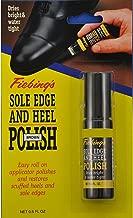 Fiebing's Sole Edge and Heel Polish 0.6 Fl Oz. (2 Colors) (Brown)