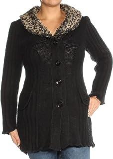 Calvin Klein Sportswear Women's Ribbed Zipper-Front Cardigan Sweater