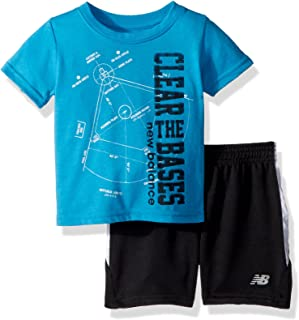 Boys' Athletic Tee and Short Set