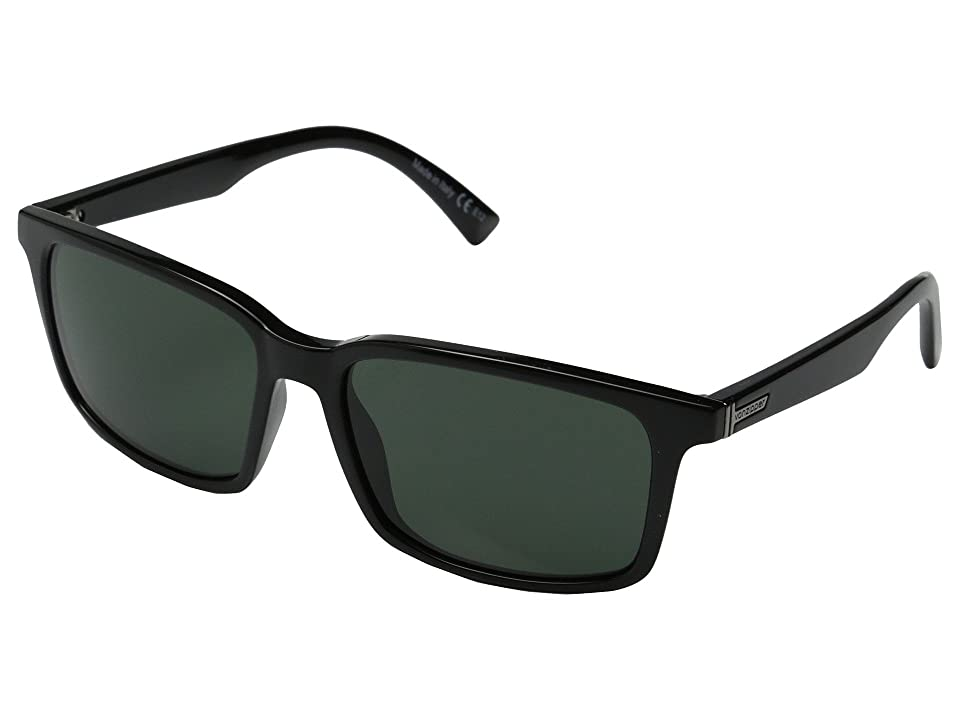 VonZipper Pinch (Black Gloss/Vintage Grey) Sport Sunglasses