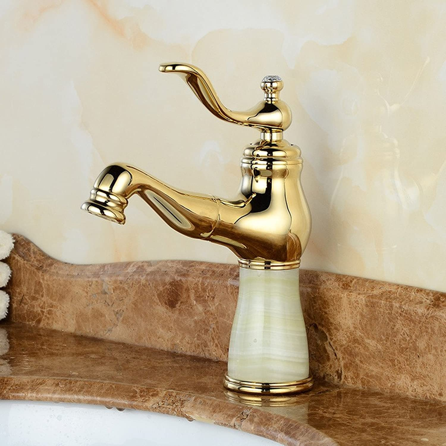 Hlluya Professional Sink Mixer Tap Kitchen Faucet All Copper Single-Mixer Taps