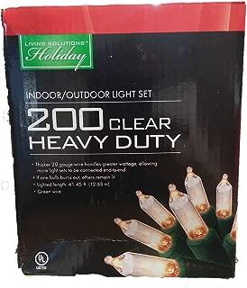 200 Clear Heavy Duty Indor/Outdoor Light St