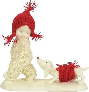 "Department 56 Snowbabies ""Trailing Behind"" Porcelain Figurine, 5.39"""