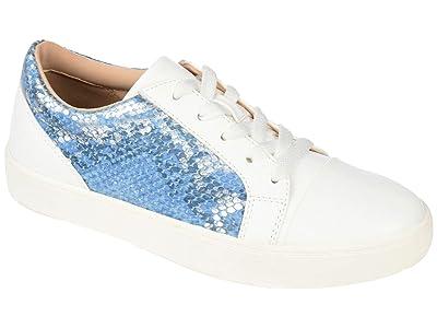 Journee Collection Comfort Foamtm Lynz Sneakers (Blue) Women