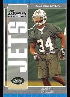 2005 SAGE Hit Autographs Gold #A49 Justin Miller Clemson Tigers Auto Rookie Card Verzamelingen