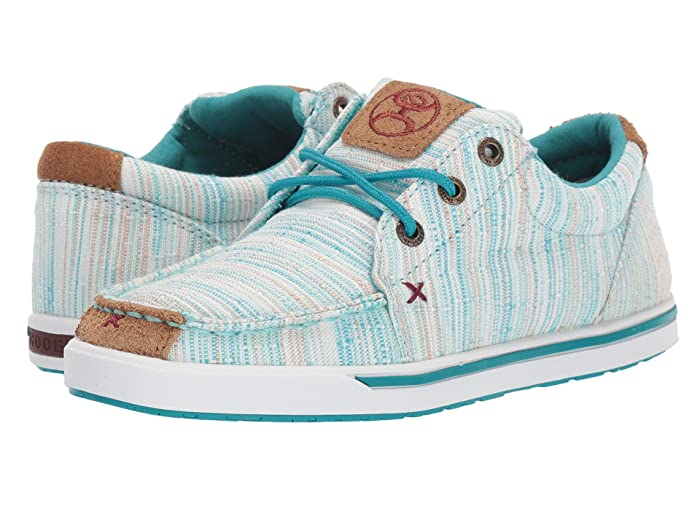 Twisted X  Hooey Looper (Blue/Multi) Womens Shoes