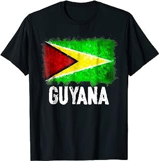 Guyana Flag T-Shirt | Watercolor Style Tee