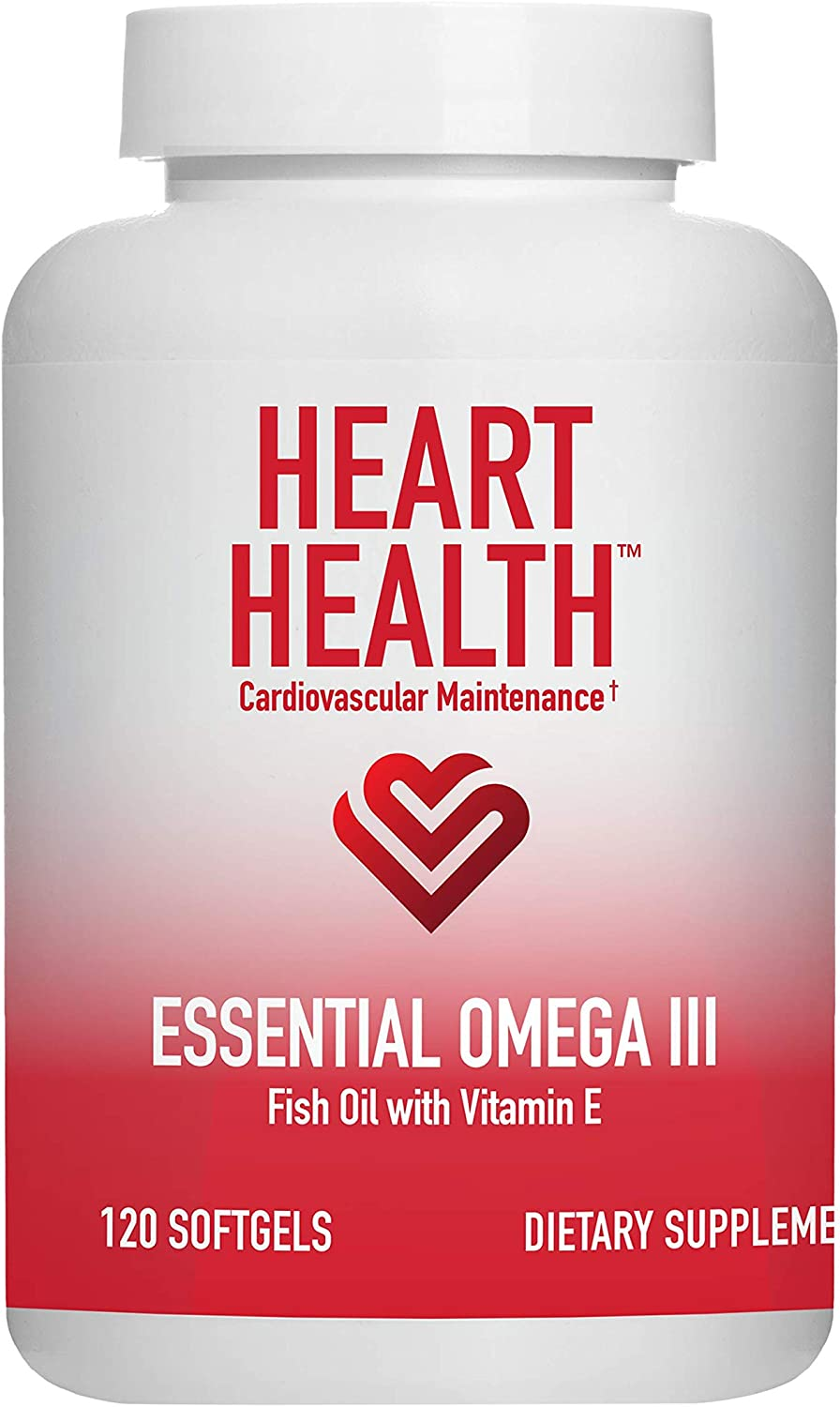 Heart Product Health Essential Omega III Fish Helps with Vitamin E Oil Finally resale start